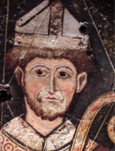 Etude par S. JADOT-PIVET de la Frise des abbés d'Ennezat, 13e, MARQ de Clermont-Ferrand