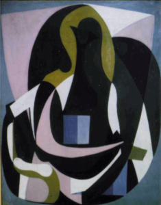 Examen infra-rouge d'un portrait cubiste de Picasso au MoMA, Sandrine JADOT-PIVET