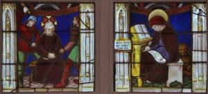 Vitraux du début du 16e siècle du Château de Dissay