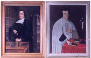 tableau recto-verso après restauration