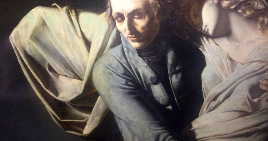 Restauration du tableau de Vafflard par Sandrine Jadot-PIvet